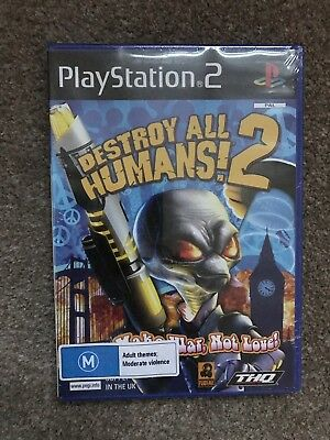 PlayStation 2 Game: Destroy All Humans (Mint Condition) PS2 UK PAL