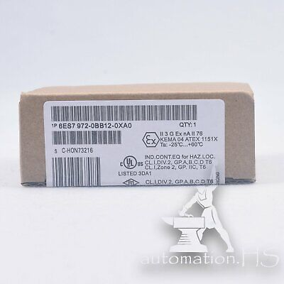 New Siemens 6ES7 972-0BB12-0XA0 6ES79720BB120XA0 Profibus Bus Connector