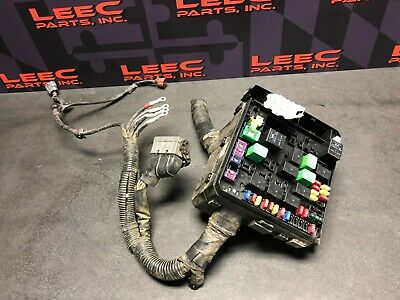 2009 mitsubishi lancer ralliart oem engine bay fuse box harness cut
