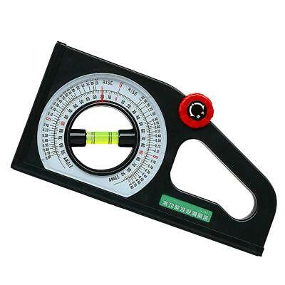 Multifunctional Protractor Angle Finder Slope Scale Angle Measuring Tool #Z