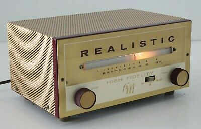Rare Vintage Realistic High Fidelity FM Tuner : Good Working Condition!!!