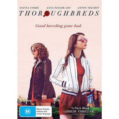 Thoroughbreds Dvd, New & Sealed, 2018 Release, Region 4, Free Post