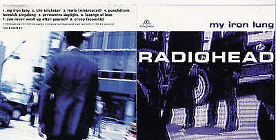 Cd 8T Radiohead My Iron Lung De 1994 Tbe