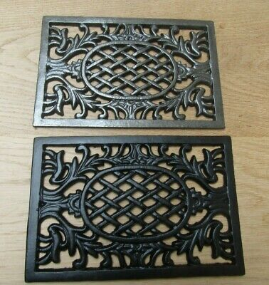 WESTMINSTER flat repair plate cast iron vintage air vent brick grille cover