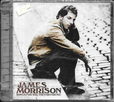 CD 12 TITRES JAMES MORRISON SONGS FOR YOU, TRUTHS FOR ME  feat NELLY FURTADO NEW