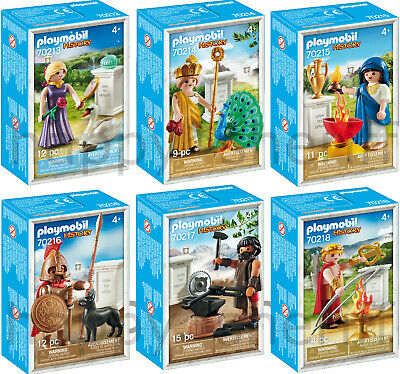 Playmobil NEW Greek Gods 70213 70214 70215 70216 70217 70218 Exclusive Boxed