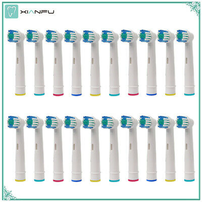20PCS Oral B Electric Toothbrush Replacement Heads For Braun Oral-b Soft Care