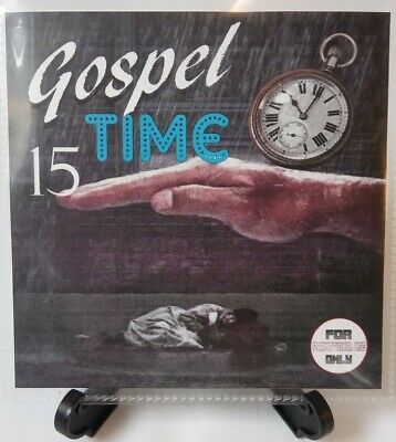 'Gospel Time' Volume 15 (Gospel & Classic Reggae Gospel, Vocal, Ska, Soca) 2019