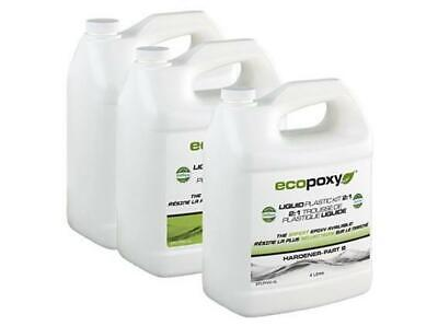 EcoPoxy Liquid Plastic 2:1 Ratio - 12 Liter Kit - Epoxy Resin Kit - River Tables