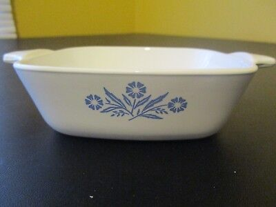 CORNING WARE Blue Cornflower PETITE PAN  P-41-B 1 3/4 Cup with New Cover P-43-PC