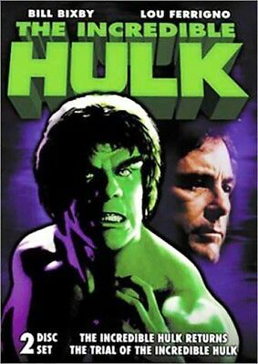 DVD ~ The Incredible Hulk Collection (2-Disc Set) - New