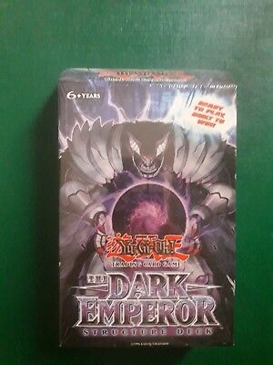 Yu-Gi-Oh! The Dark Emperor Structure Deck 1st edition. Yugioh