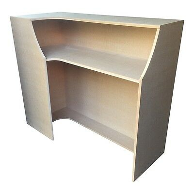 MDF Retail/ Shop/ Office Reception Desk/ Corner Counter Unit