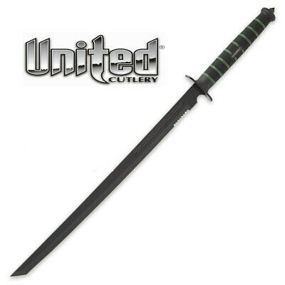 United Cutlery USMC Blackout Combat Sword UC3157 with Nylon Sheath