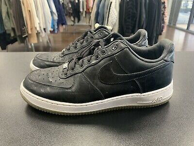 on sale 8bcc3 ae092 NIKE AIR FORCE 1 LOW CMFT PRM QS BLACK AF1 XXX Size 11.5  573974-
