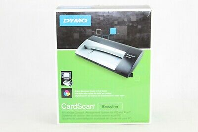 Dymo Cardscan V9 Executive Business Card Scanner Contact