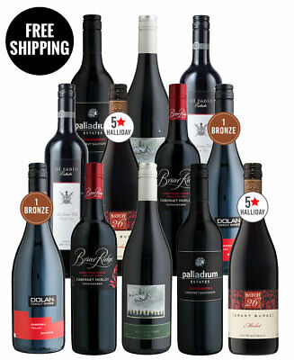 Red Wine Stunners Dozen (12 Bottles)