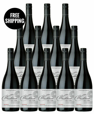 Byron & Harold Wheelabout Hay View Shiraz 2014 (12 Bottles)