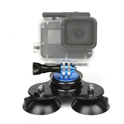 Triple Suction Cup Car Windscreen Dash Mount + Screwt for GoPro Hero 7 5 Xiaomi