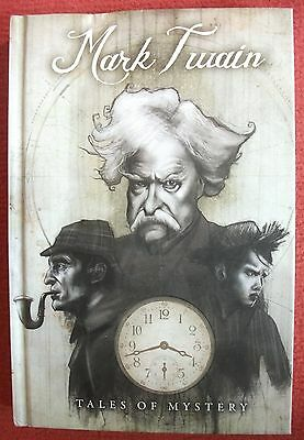 MARK TWAIN: TALES OF MYSTERY (IDW Hardcover Story Book), NEW