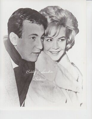 Vintage Press Photograph BOBBY & SANDRA DARIN - Studio Publicity Photo
