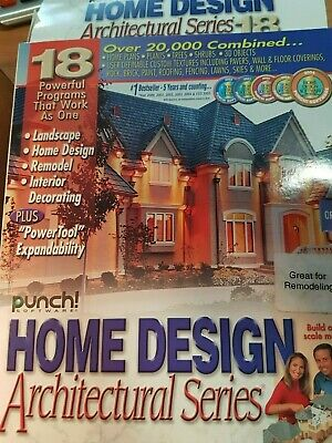 Home Design Punch Architectural Series 18 - Complete Package