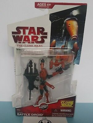 Star Wars Rocket Battle Droid Firing Boarding Claw The Clone Wars Collection