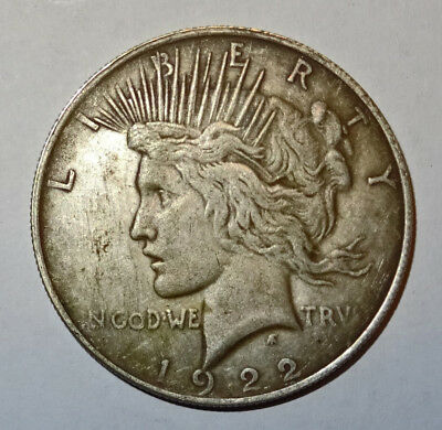 pièce en argent 1922 United States of America Silver Peace One Dollar
