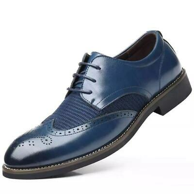 Amedeo Exclusive Men's New Genuine Leather Shoes Premium Quality W/ Gift Box