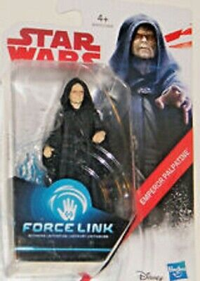 Star Wars The Last Jedi Emperor Palpatine Force Link Action Figure Hasbro Rare