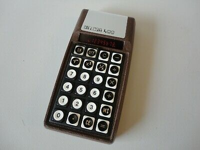 Melcor 400 Rare Scientific Vintage Calculator Works Perfectly! Made In Usa