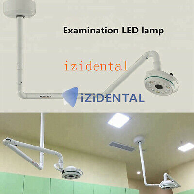36W Ceiling Mounted LED Dental Surgical Light Medical Exam Oral Shadowless Lamp