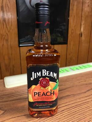 Jim Beam Peach 750Ml Usa Version -No Homefront Bookers Distillers