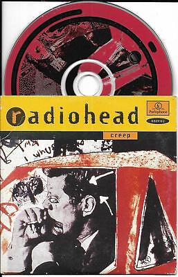 Cd Cartonne Cardsleeve 2 Titres Radiohead Creep De 1993 Europe