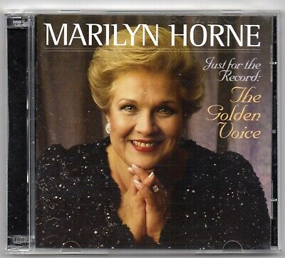 Marilyn Horne - Just for the Record: The Golden Voice (2 CD Set 2004)