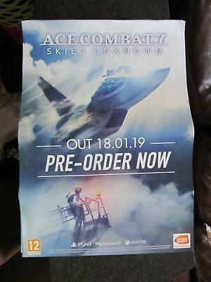 Ace Combat 7 Skies Unknown: A2 Poster