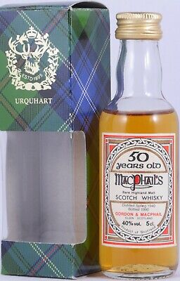 MacPhail´s 1940 50 Years Miniatur Rare Highland Single Malt Scotch Whisky 40,0%