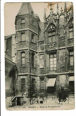 CPA-Carte postale-France- Rouen- Hotel Bourgtherould-1911-  VM2686