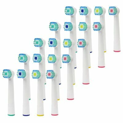 20PCS oral b electric toothbrush replacement heads braun Electric Tooth Vitality