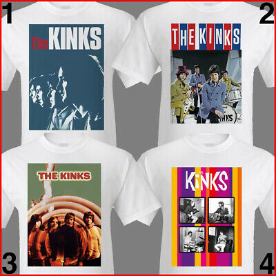 THE KINKS TShirt S- 3XL poster prints. Ray Davies/1960s/mod/sixties/britpop