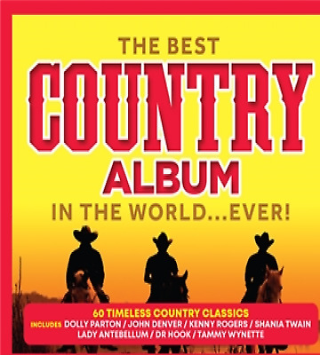Various - THE BEST COUNTRY ALBUM IN THE WORLD…EVER! 3 CD ALBUM NEW (30TH MAY)