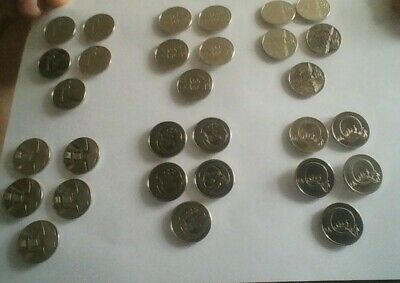 2019 Uncirculated Alphabet 10P Coins Pick Your  Five For £5