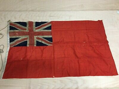 United Kingdom UK Union Jack Fully Sewn Vintage-Look Flag 49cm x 33cm