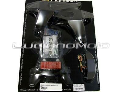 Lightech Porta targa regolabile Honda CBR 600 RR 07/13 Nero