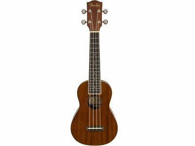 Fender Seaside Ukulele Soprano Natural