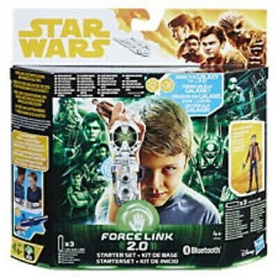 "Star Wars New Force Link 2.0 Starter Set with 3.75"" Han Solo Hasbro"