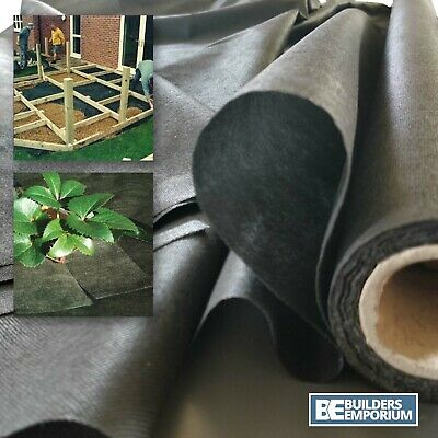 Garden Weed Membrane Fabric Control SPUNBOND 1.5mtr 50gsm ALL SIZES