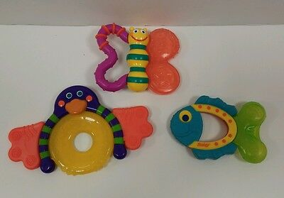 Sassy Toy ~ Baby Rattle Teething Toys Lot ~ Development Toys
