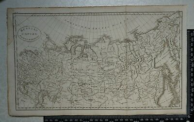 1808 - Map of Russian Empire - J Russell for William Guthrie