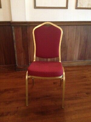 Lot of Used Banquet Chairs/Stack Chairs/Ballroom Chairs (50+ in stock)